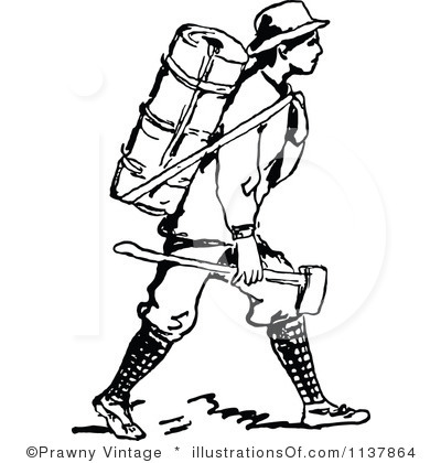 ... Hiking Backpack Clipart Black And White Hiking Backpack Clipart Clipart  Panda Free Clipart Images ...