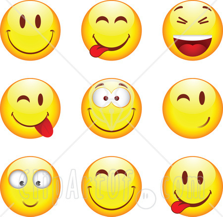 winking smiley face clip art. | Clipart Panda - Free Clipart Images