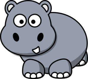 hippo%20clipart%20black%20and%20white