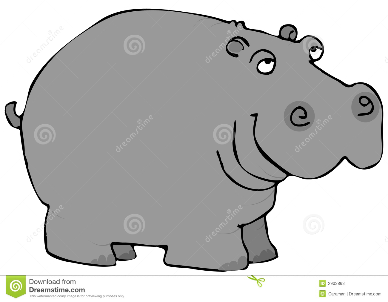 Free Hippo Clipart - Clip Art Pictures - Graphics - Illustrations