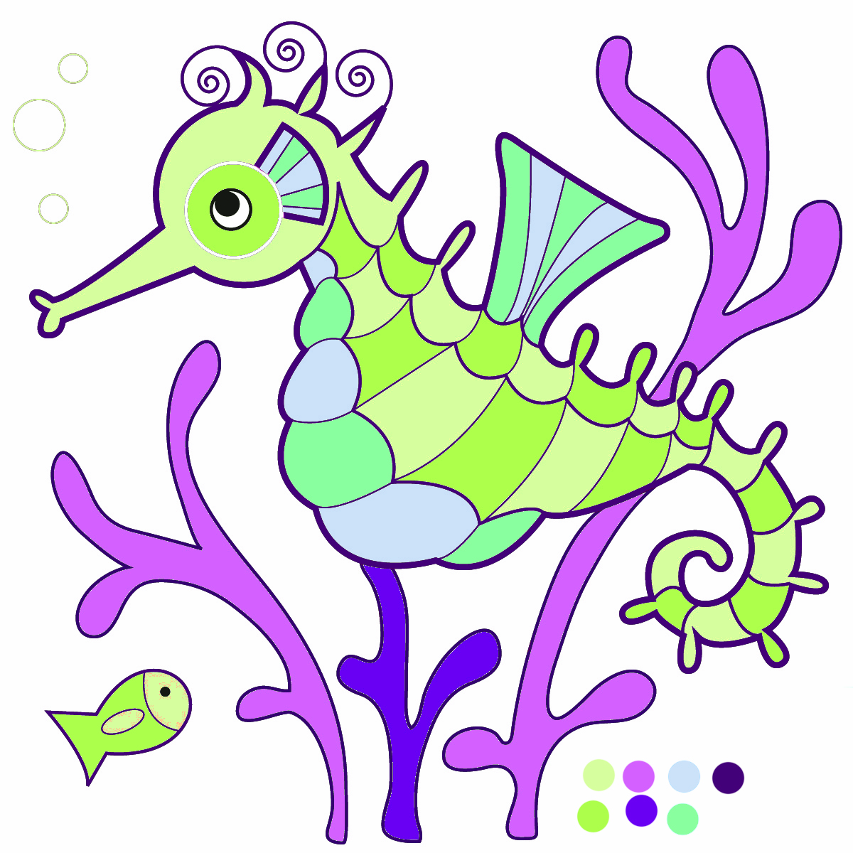 Hippocampus Clipart | Clipart Panda - Free Clipart Images