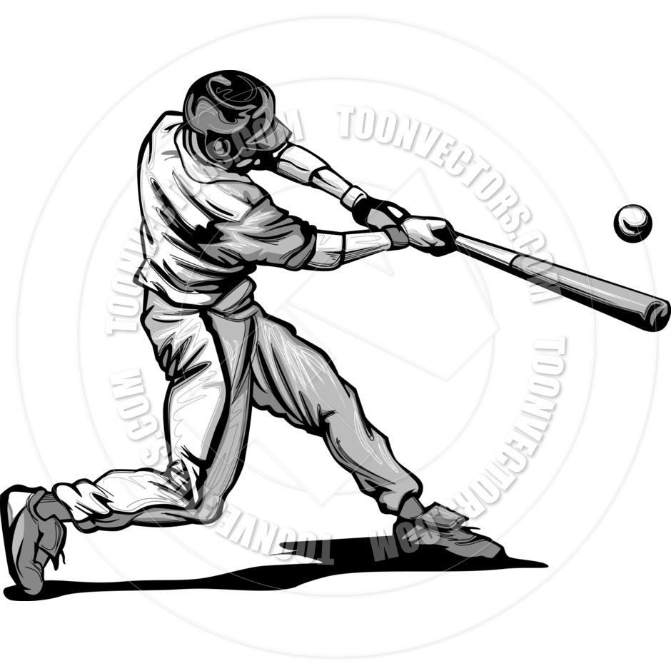 Baseball batta batter dance hair swinging blonde CECILY