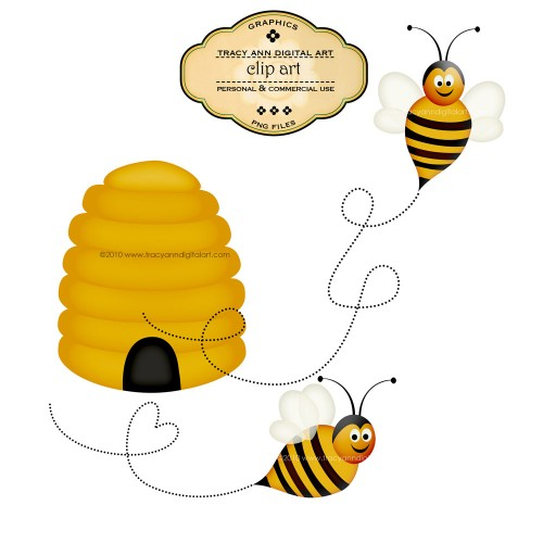 Flying Bee Clipart | Clipart Panda - Free Clipart Images