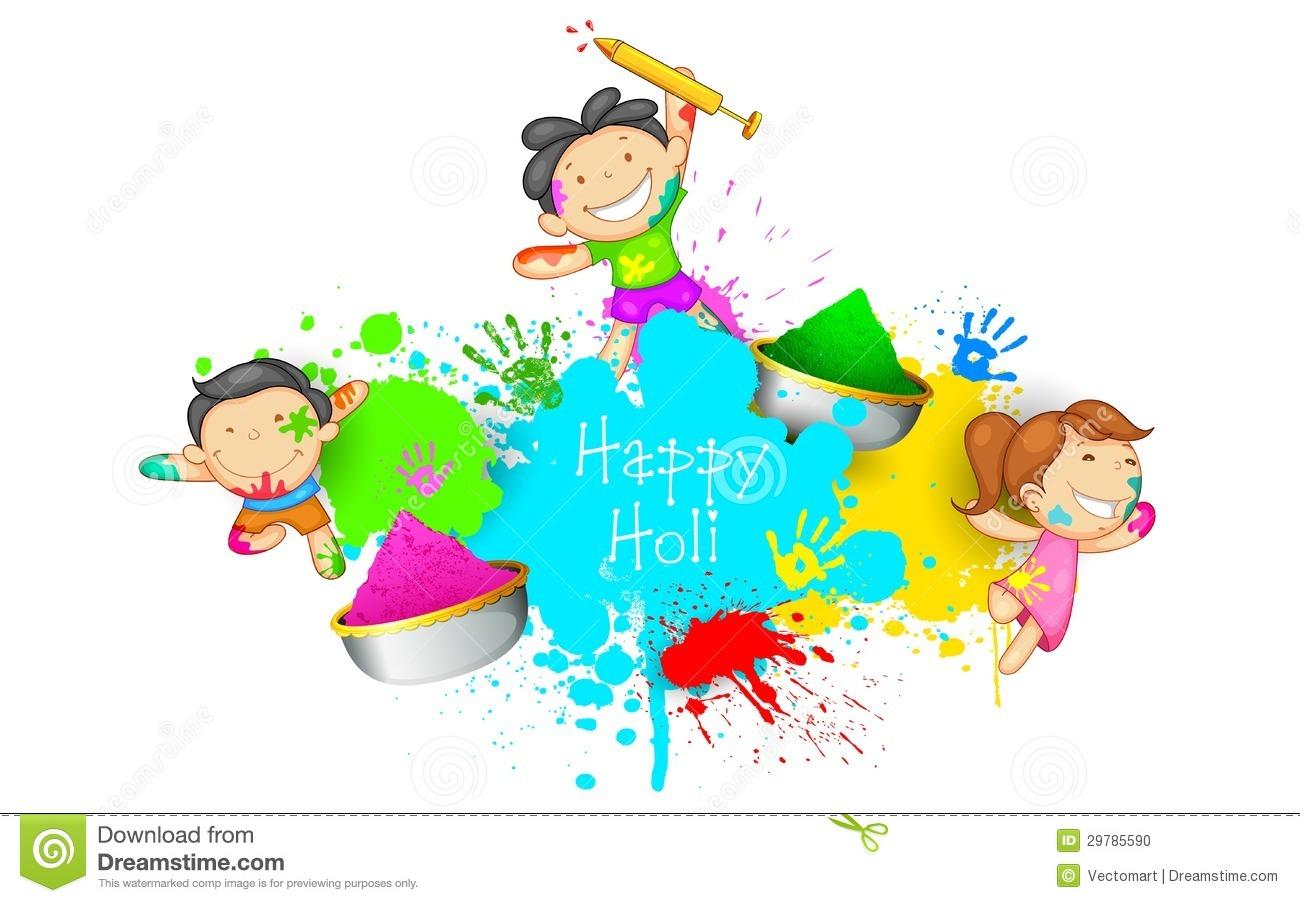 Holi Painting Art
