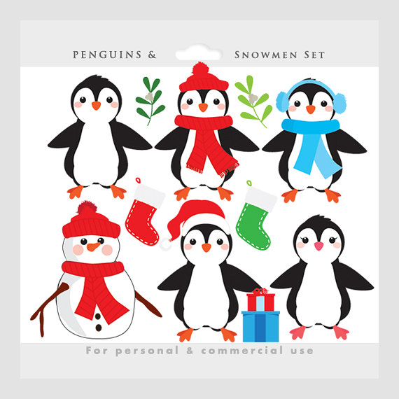 clipart panda winter - photo #30