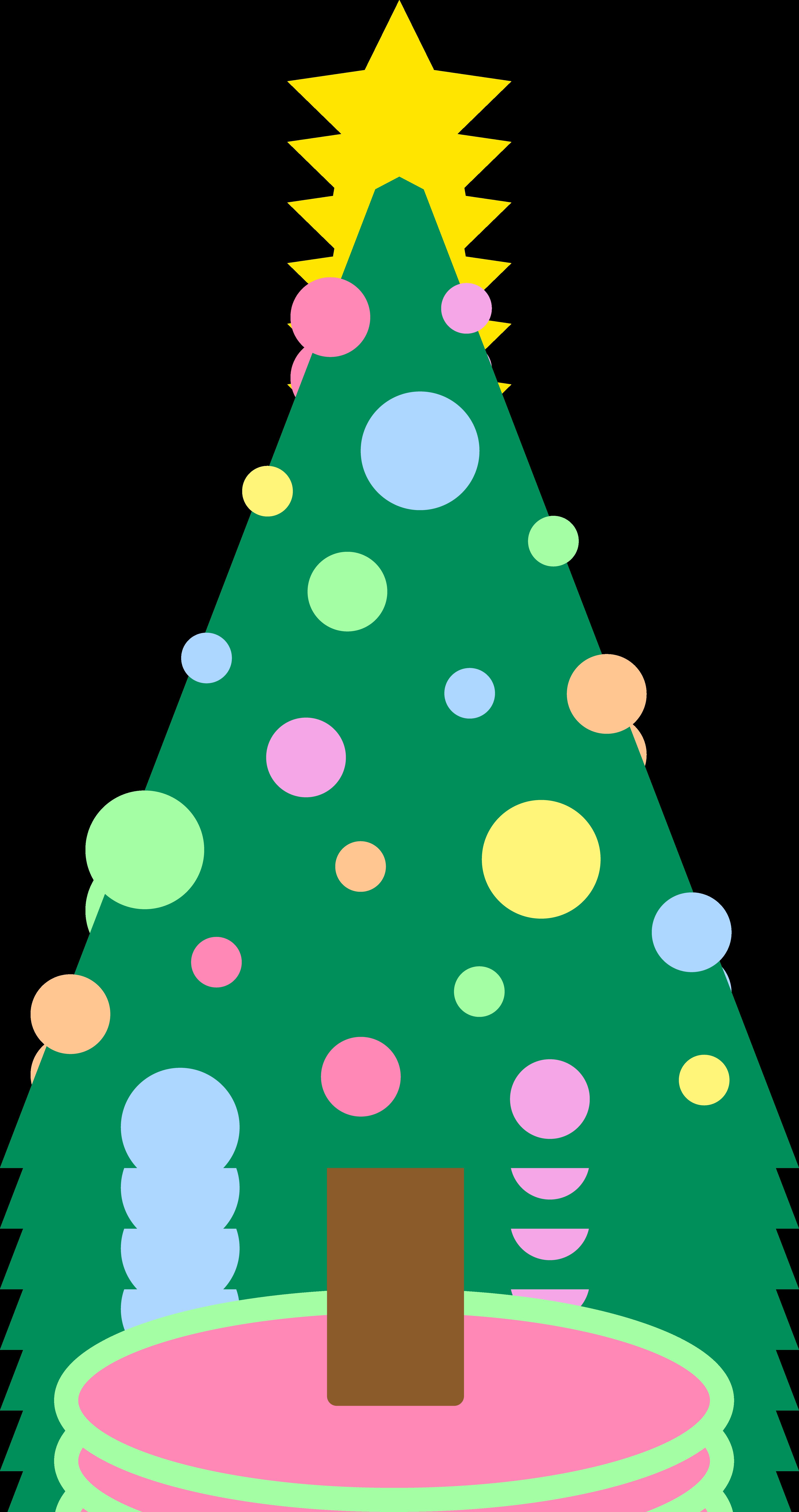 Simple Christmas Tree Clipart | Clipart Panda - Free ...