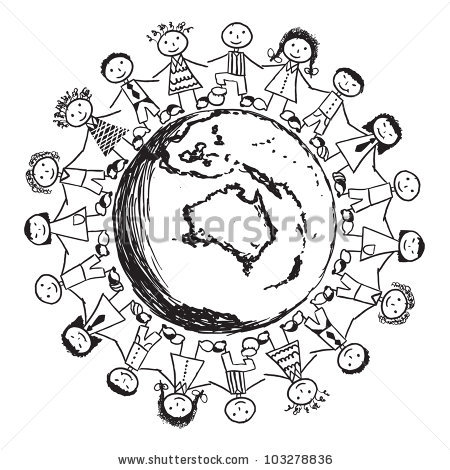 Coloring Pages Countries Cultures Australia