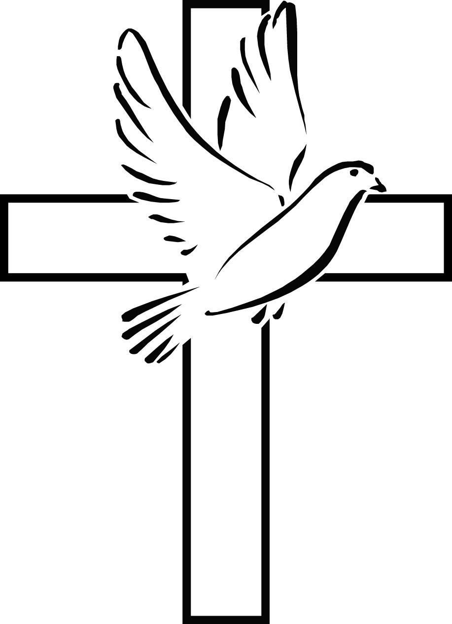 Christian Symbols Clipart - Cliparts.co  |Christian Dove Symbol