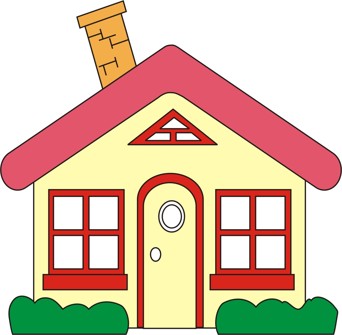 Home clipart clipart panda free clipart images for Casa amarilla musica