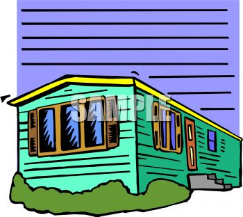 Mobile Homes Images Clip Art