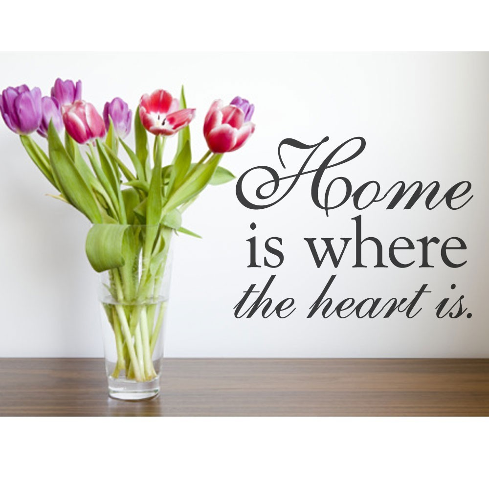 Home Is Where The Heart Is Quote Home Is Where The Heart Is Quote  Clipart Panda  Free Clipart Images