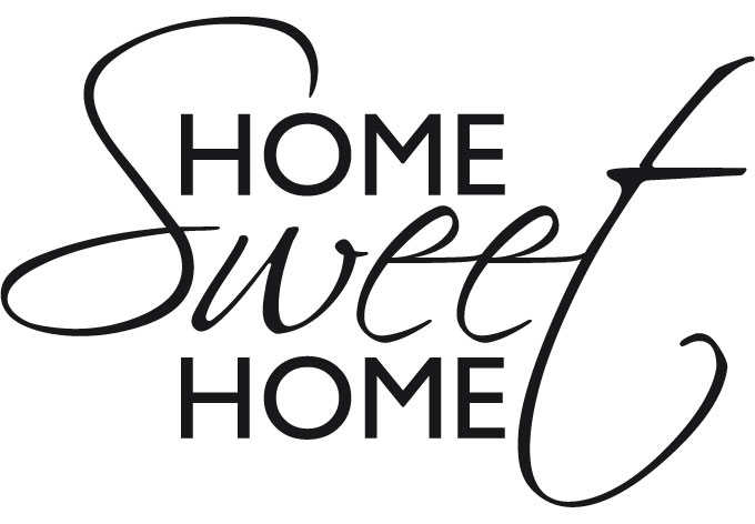 home sweet home logo clipart panda free clipart images. Black Bedroom Furniture Sets. Home Design Ideas