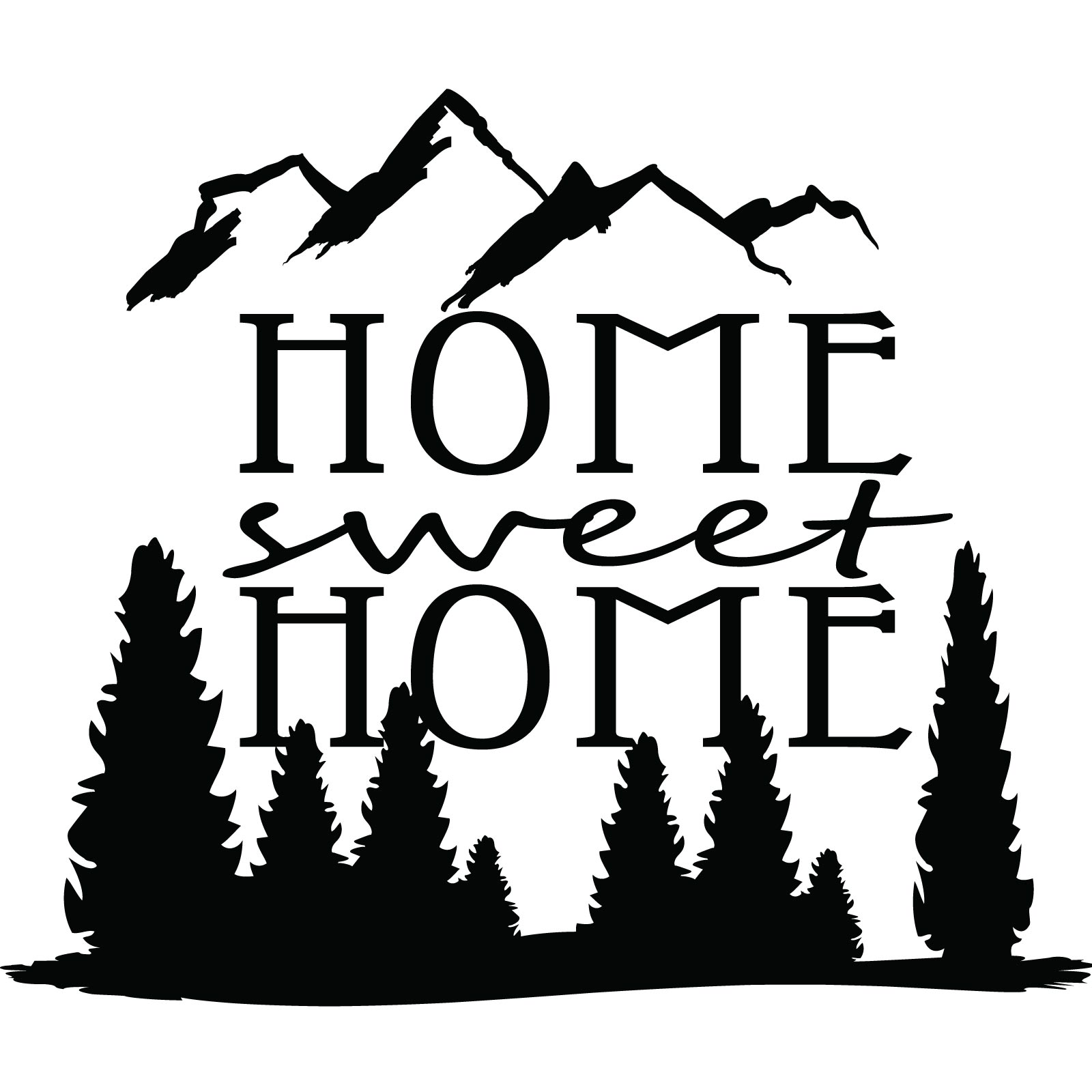 Home Sweet Home Logo  Clipart Panda  Free Clipart Images