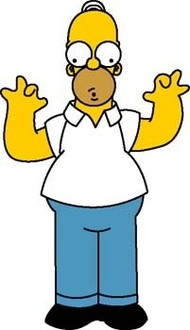 Maman Homer Simpson