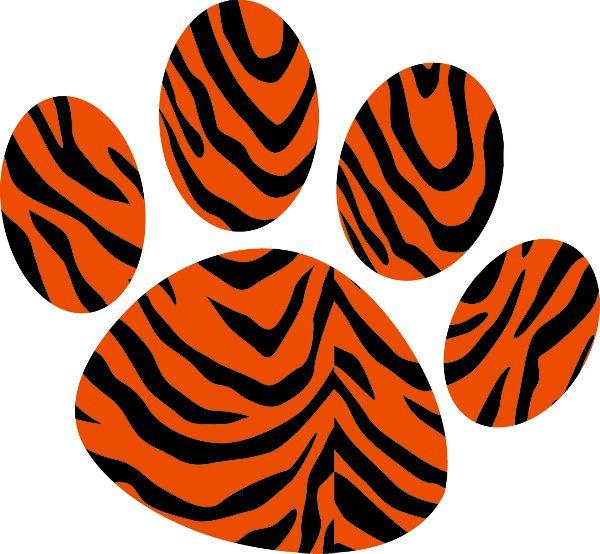 Tiger paw - photo#24