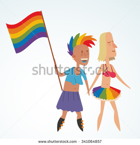 clip art on homosexual men