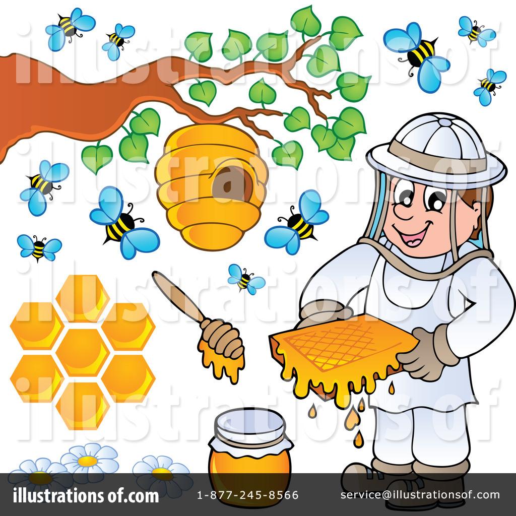 Honey Clipart Illustration