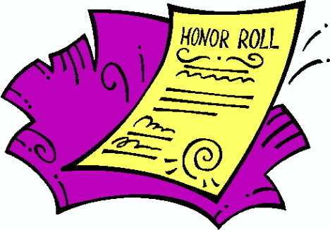honor roll clipart clipart panda free clipart images rh clipartpanda com Honor Roll Symbol Honor Roll Scroll