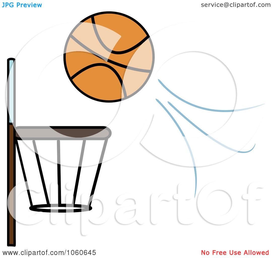 Basketball Going Through Net Clipart | Clipart Panda - Free Clipart ...