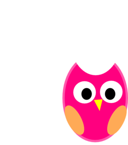 Pink Owl clip art - vector | Clipart Panda - Free Clipart ...