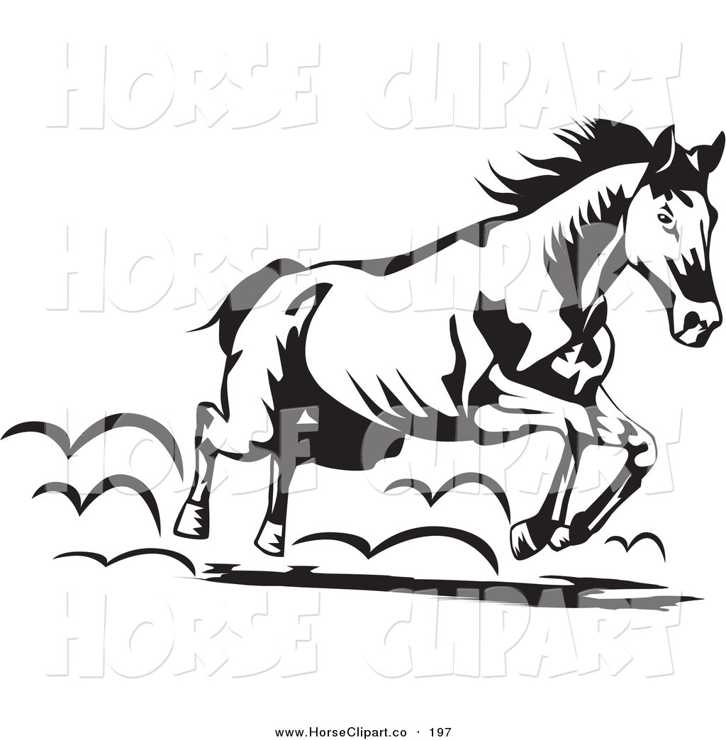 horse%20clipart%20black%20and%20white