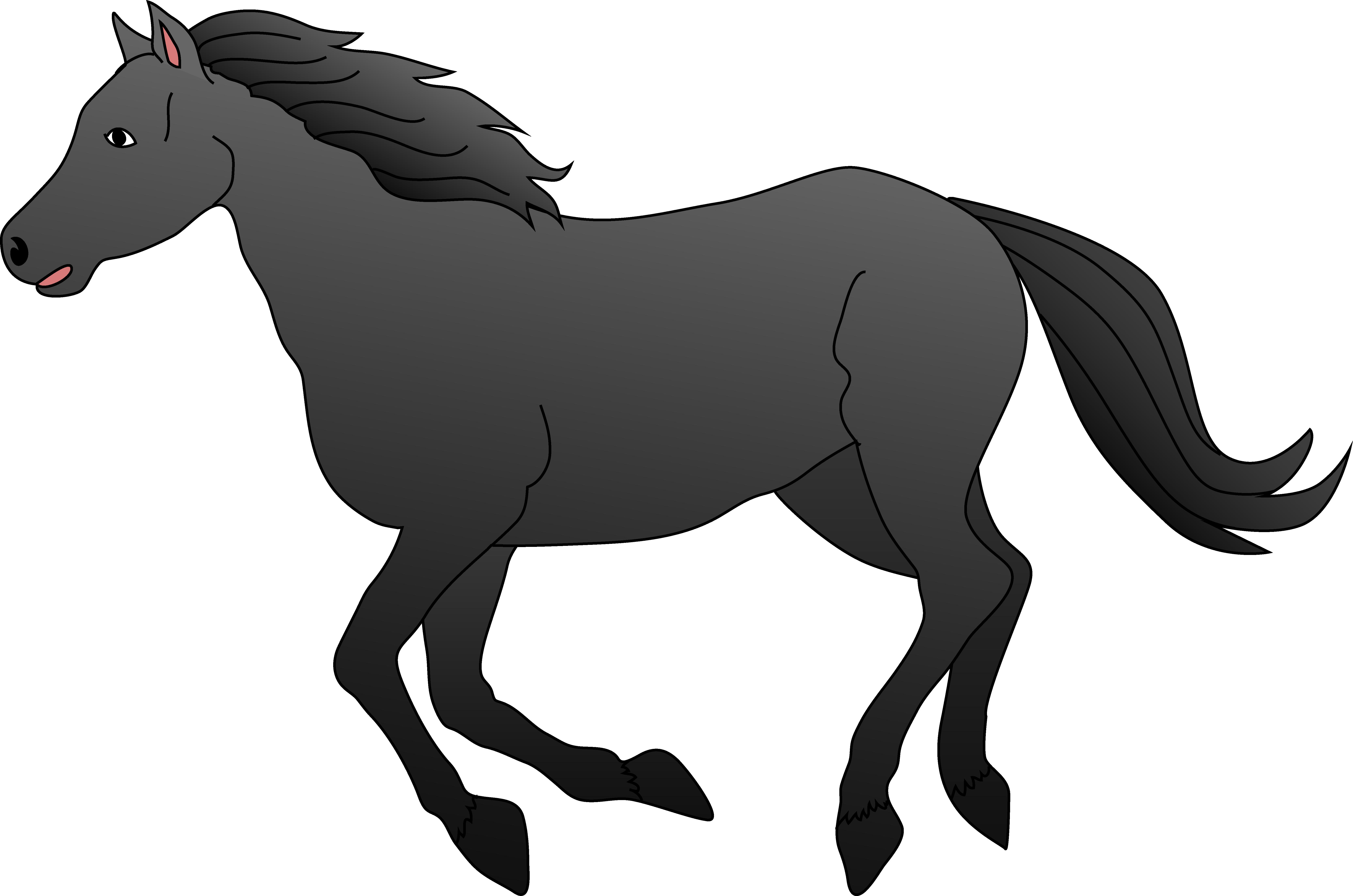 horse lovers clip art - photo #29