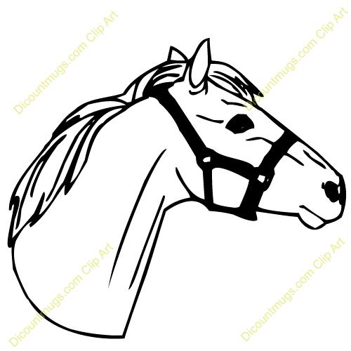 quarter horse head clip art clipart panda free clipart