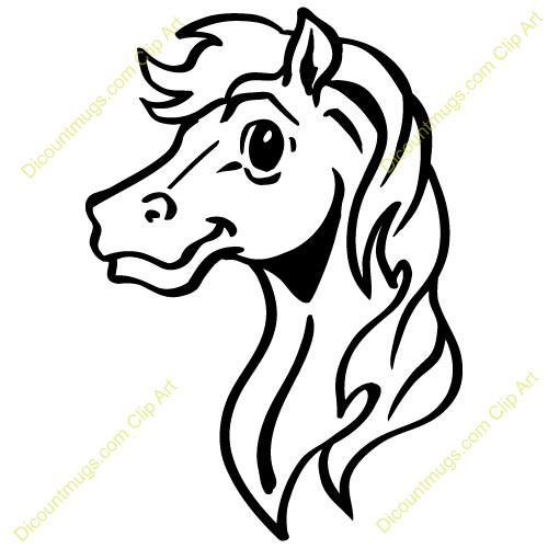 horse head clip art clipart panda free clipart images rh clipartpanda com