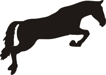 horse jumping clipart clipart panda free clipart images rh clipartpanda com horse jumping over fence clipart Jumping Horse Outline