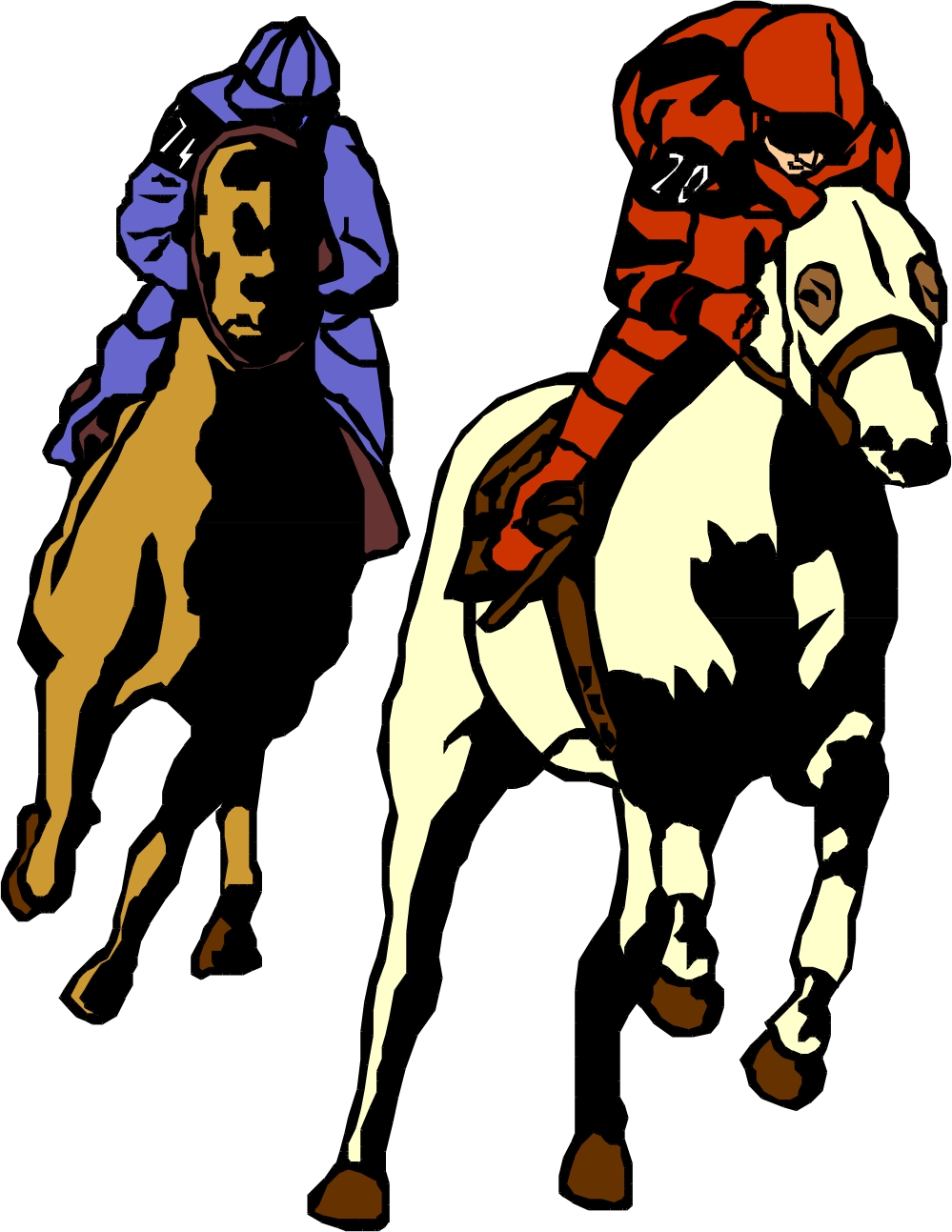 Horse Racing Clipart | Clipart Panda - Free Clipart Images