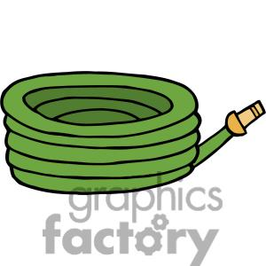 Hose 20clipart clipart panda free clipart images for Gardening tools cartoon