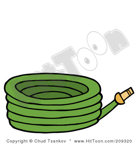 Green garden hose 209320 clipart panda free clipart for Gardening tools cartoon