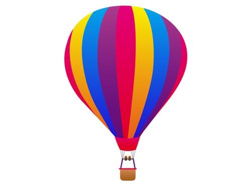 Hot Air Balloon Art For Kids