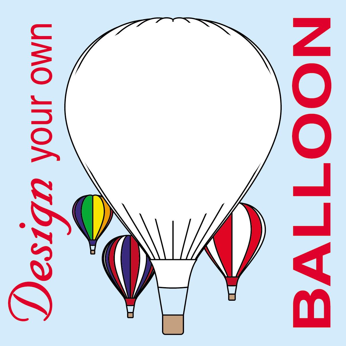 air balloon basket coloring page clipart panda free