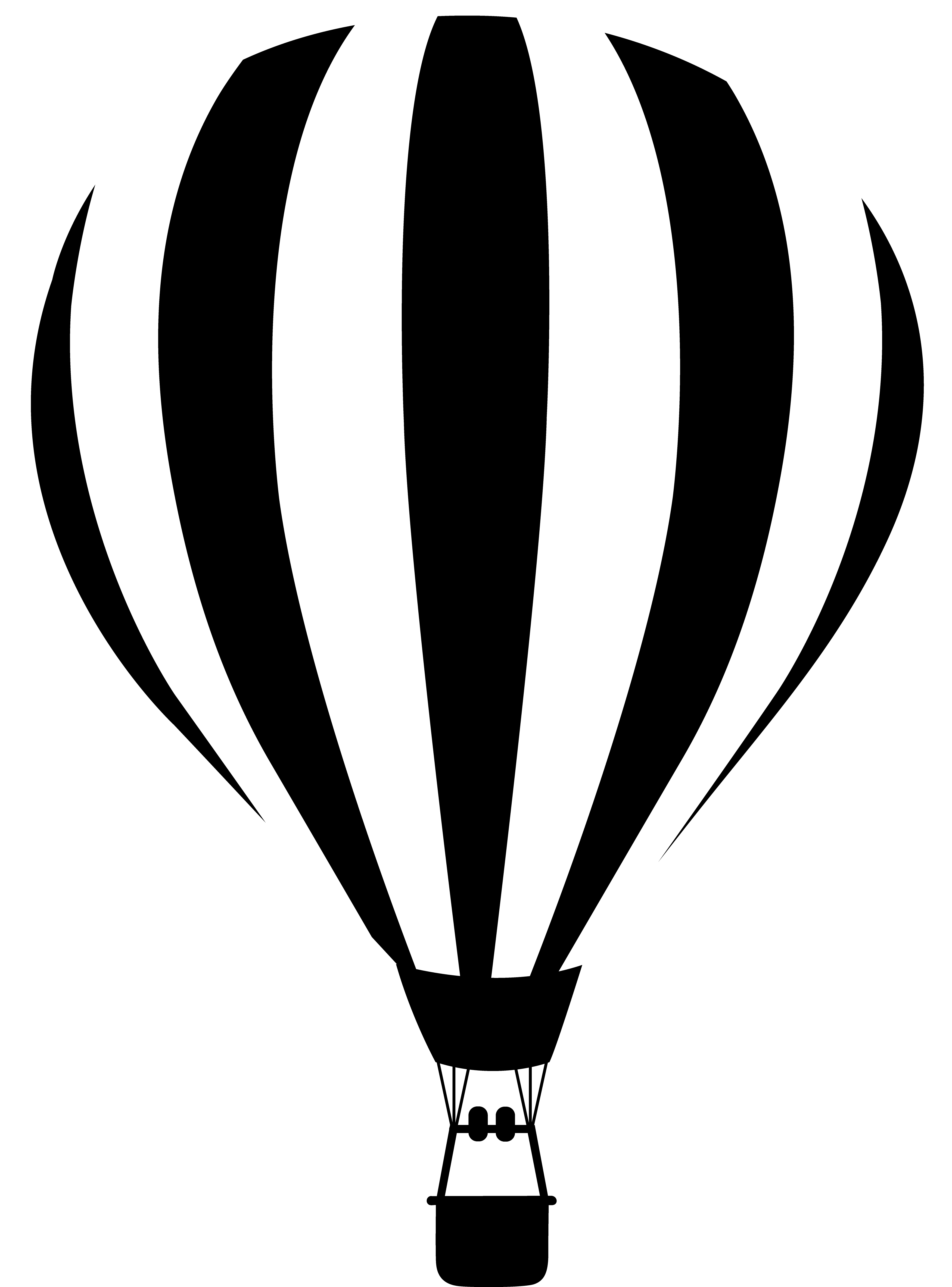 hot air balloon clipart black and white clipart panda free rh clipartpanda com Car Clip Art Black and White Minion Clip Art Black and White