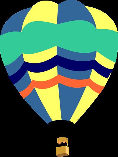 Colorful Hot Air Balloon Clipart   Clipart Panda - Free ...