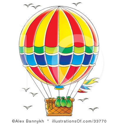 Hot Air Balloon Clip Art Cartoon Clipart Panda Free Clipart Images