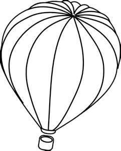 Hot Air Balloon Template | Clipart Panda - Free Clipart Images