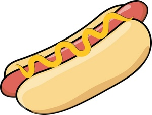 hotdog clipart clipart panda free clipart images rh clipartpanda com free hamburger and hot dog clipart free cartoon hot dog clipart