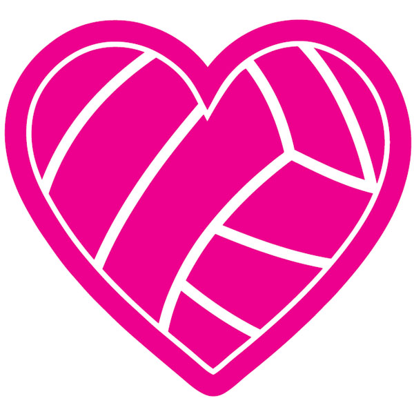 Hot Pink Volleyball | Clipart Panda - Free Clipart Images