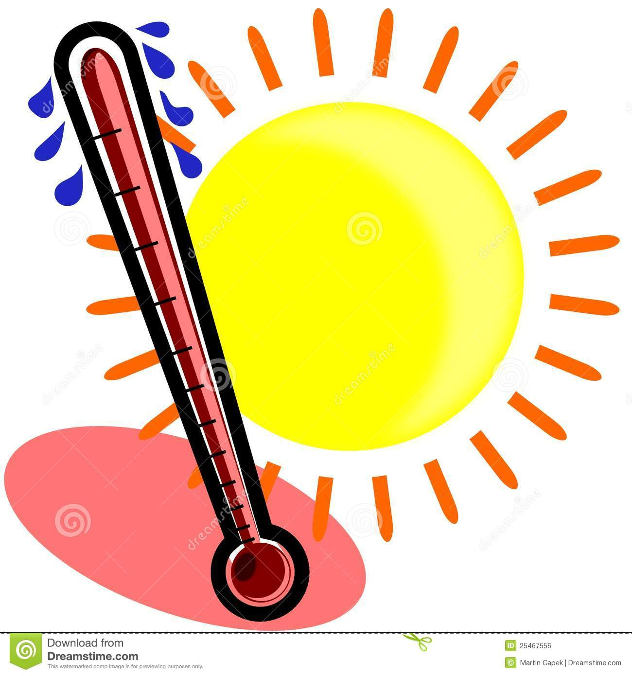 Weather Thermometer Hot | Clipart Panda - Free Clipart Images