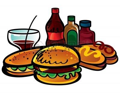 Hamburgers And Hotdogs Clipart hamburger and hotdog clipart