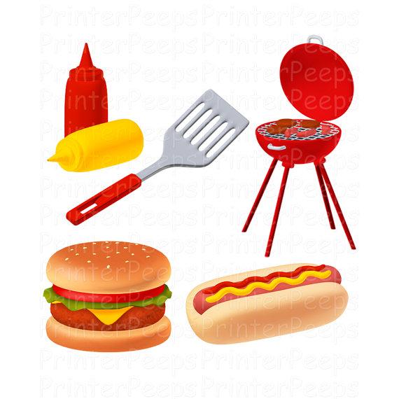 Hamburgers And Hotdogs Clipart hotdog 20and 20hamburger