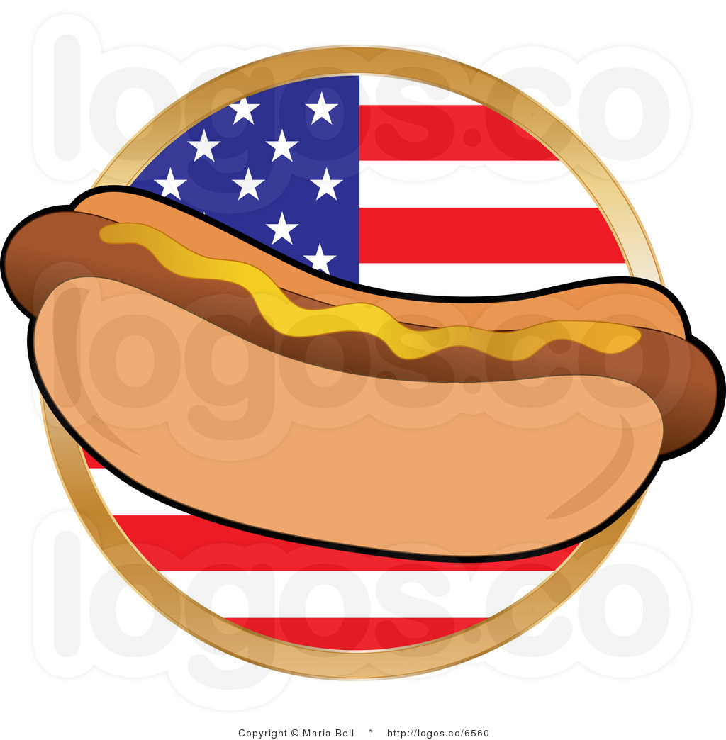 Hot Dog Man Clipart