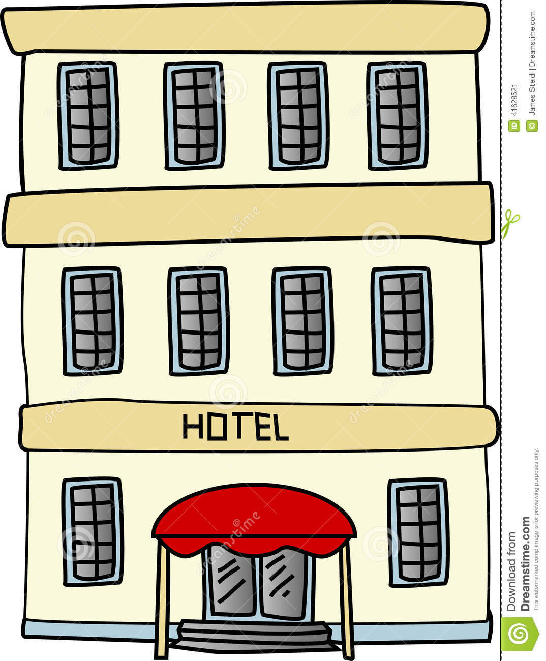 Hotel cartoon