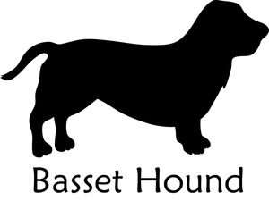 free basset hound clip art clipart panda free clipart images rh clipartpanda com  basset hound birthday clipart