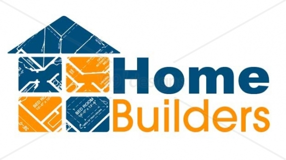 House construction logo clipart panda free clipart images for Home builder contractors
