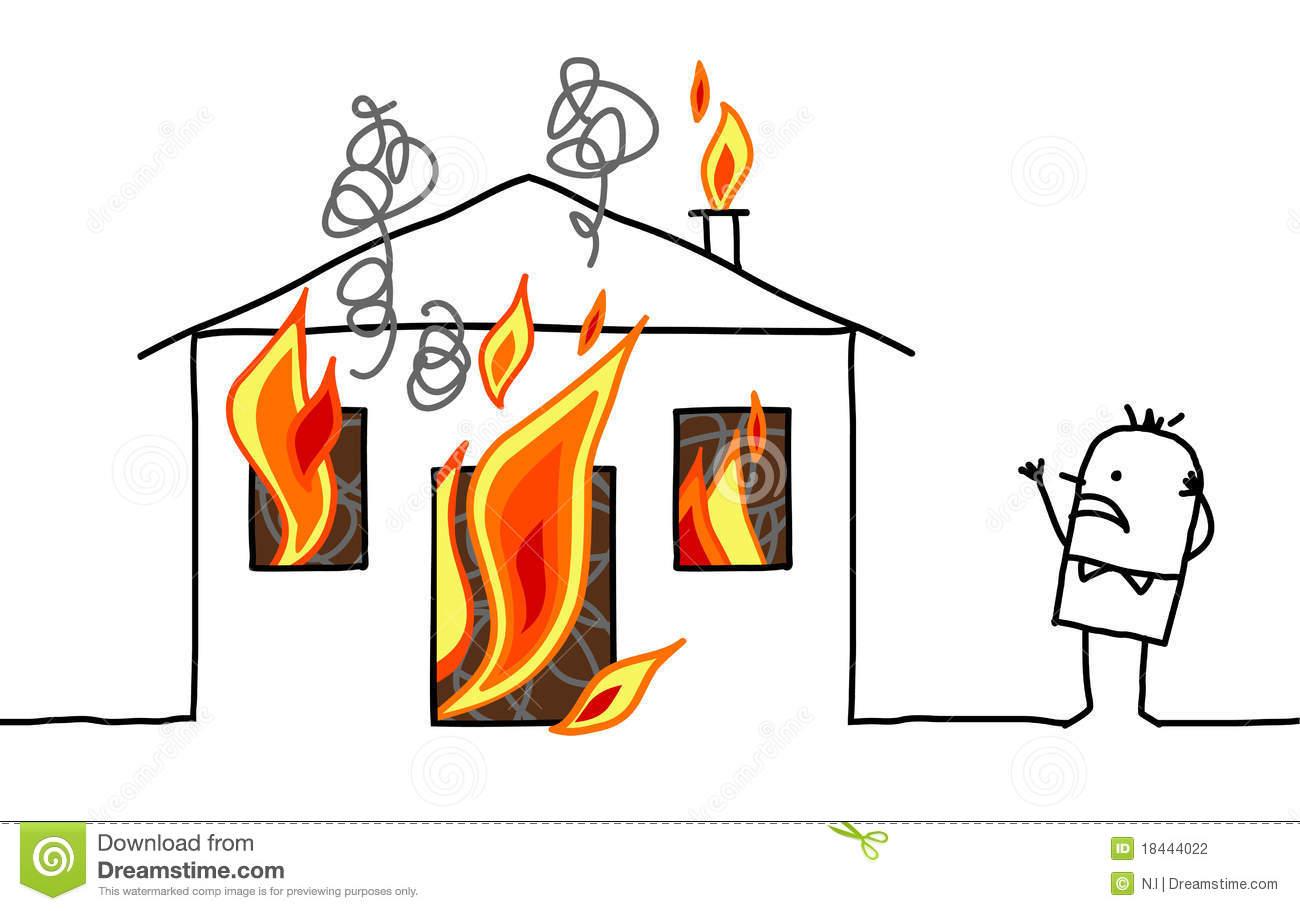 clipart burning house - photo #45