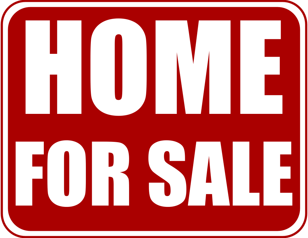 Image result for free image of a house for sale sign