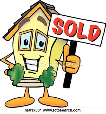 House for sale sign clip art clipart panda free for Real art for sale